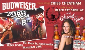 2014 Bud Bash  @ 801 Main | Hopkinsville | Kentucky | United States