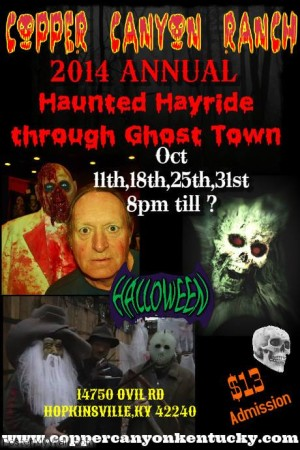 Copper Canyon Ranch Haunted Hayride @ Copper Canyon Ranch | Hopkinsville | Kentucky | United States