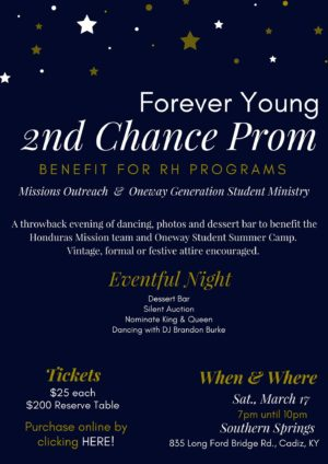 Forever Young-2nd Chance Prom @ Southern Springs | Cadiz | Kentucky | United States