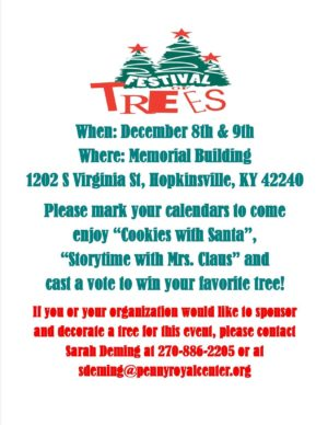 Festival of Trees 2017 @ Memorial Building  | Hopkinsville | Kentucky | United States