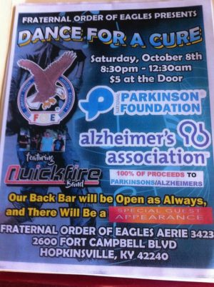 Fraternal Order of Eagles Presents Dance For A Cure @ Fraternal Order of Eagles Aerie 3423 | Hopkinsville | Kentucky | United States
