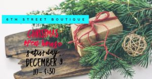6th Street Boutique Christmas Open House @ 6th Street Boutique  | Hopkinsville | Kentucky | United States