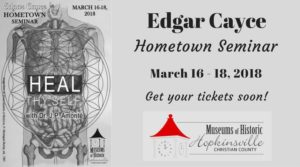 Edgar Cayce Hometown Seminar @ Pennyrile Forest State Resort Park | Dawson Springs | Kentucky | United States