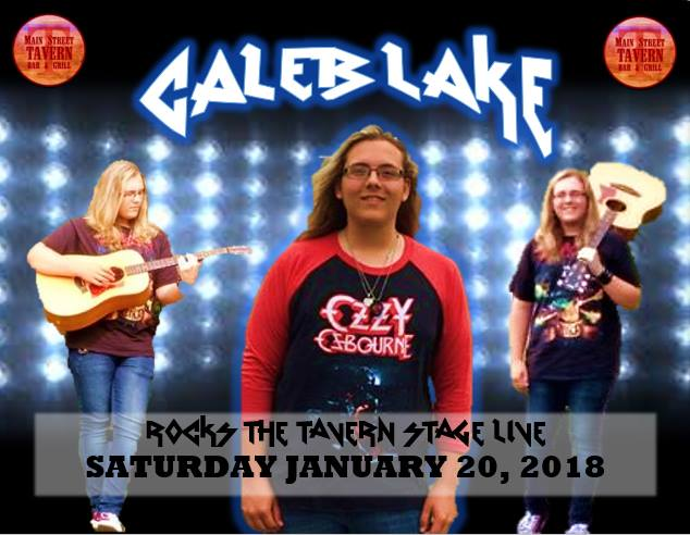 Caleb Lake Rocks the Tavern Stage @ 8th Street Cafe & Main Street Tavern  | Hopkinsville | Kentucky | United States