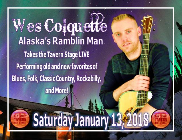 Main Street Tavern Welcomes Wes Colquette @ 8th Street Cafe & Main Street Tavern  | Hopkinsville | Kentucky | United States