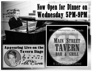8th Street Cafe & Main Street Tavern Wednesday Dinner @ 8th Street Cafe & Main Street Tavern  | Hopkinsville | Kentucky | United States