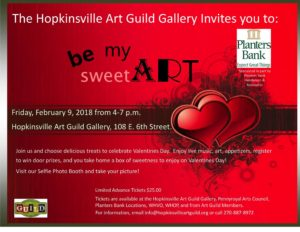 Be My SweetART @ The Hopkinsville Art Guild Gallery | Hopkinsville | Kentucky | United States