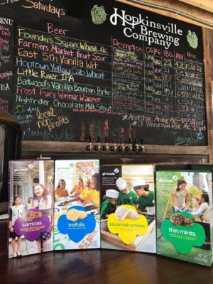 Girl Scout Cookie & Craft Beer Pairing @ Hopkinsville Brewing Company    Hopkinsville   Kentucky   United States