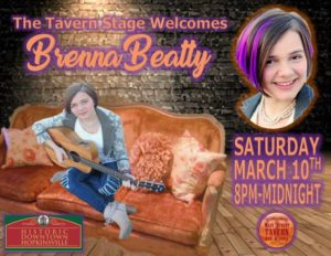 Brenna Beatty Live on the Tavern Stage @ 8th Street Cafe, Main Street Tavern & The Keach  | Hopkinsville | Kentucky | United States