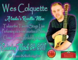 Wes Colquette Returns to the Tavern Stage @ 8th Street Cafe, Main Street Tavern & The Keach  | Hopkinsville | Kentucky | United States
