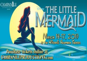 Disney Movie World Map.All Events For Campanile Productions The Little Mermaid