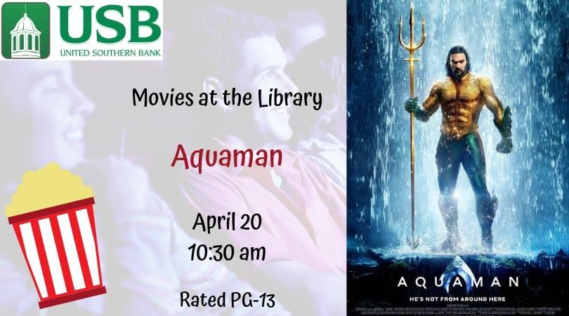 Movies at the Library: Aquaman