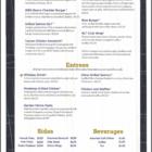 Bourbon's Bar & Grill Menu 2