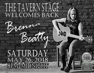 Brenna Beatty Live @ 8th Street Cafe, Main Street Tavern & the Keach | Hopkinsville | Kentucky | United States