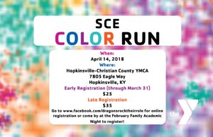 South Christian Elementary School Color Run @ Hopkinsville-Christian County YMCA | Hopkinsville | Kentucky | United States