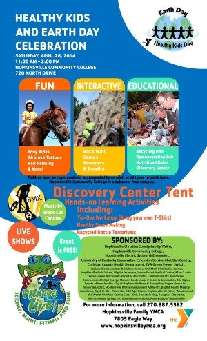 Earth Day and Healthy Kids Day @ Hopkinsville Community College | Hopkinsville | Kentucky | United States