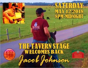 Jacob Johnson Returns to the Tavern Stage @ 8th Street Cafe, Main Street Tavern & the Keach | Hopkinsville | Kentucky | United States