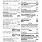 Main Street Tavern menu pg 2-October 2019