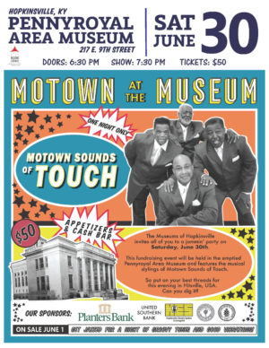 Motown at the Museum @ Pennyroyal Area Museum | Hopkinsville | Kentucky | United States