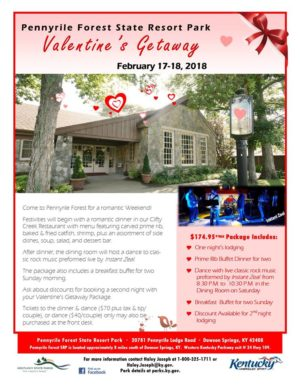 Valentine's Getaway @ Pennyrile Forest State Resort Park | Dawson Springs | Kentucky | United States