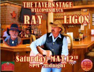 Ray Ligon Returns to the Tavern Stage @ 8th Street Cafe, Main Street Tavern & the Keach | Hopkinsville | Kentucky | United States