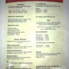 Snack Shack Menu 2