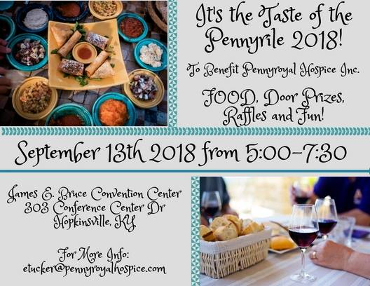 2018 Taste of the Pennyrile @ James E. Bruce Convention Center  | Hopkinsville | Kentucky | United States
