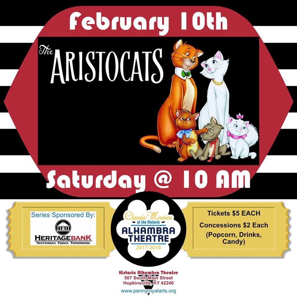 The Aristocats @ Alhambra Theatre    Hopkinsville   Kentucky   United States