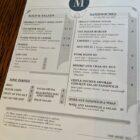 The Mixer menu-Lunch 2020