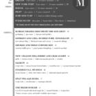 The Mixer menu pg 2-Winter 2019