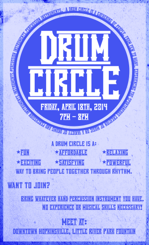 Community Drum Circle @ Little River Park