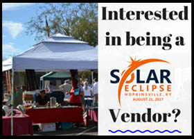 2017 Solar Eclipse Vendors