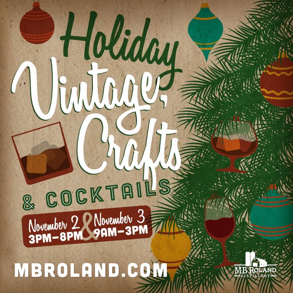 Holiday Vintage, Crafts & Cocktails