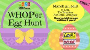 WHOP'er Egg Hunt @ Tie Breaker Park | Hopkinsville | Kentucky | United States