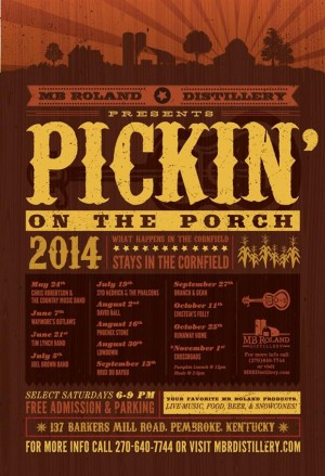Pickin' on the Porch: David Ball @ MB Roland Distillery | Pembroke | Kentucky | United States