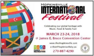 Hopkinsville International Festival 2018 @ James E. Bruce Convention Center  | Hopkinsville | Kentucky | United States