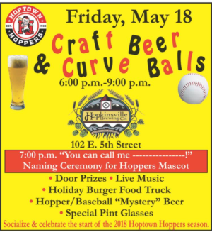 Craft Beer & Curve Balls @ Hopkinsville Brewing Company | Hopkinsville | Kentucky | United States
