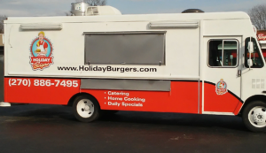 Holiday Burgers Food Truck @ Pickin' On The Porch @ MB Roland Distillery | Pembroke | Kentucky | United States