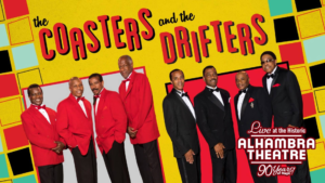 The Coasters & The Drifters @ Alhambra Theatre  | Jacksonville | Florida | United States