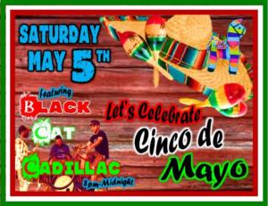 Black Cat Cadillac Celebrates Cinco de Mayo @ 8th Street Cafe, Main Street Tavern & the Keach | Hopkinsville | Kentucky | United States