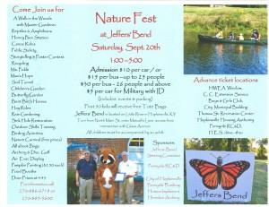 Nature Fest at Jeffers Bend @ Jeffers Bend Environmental Center | Hopkinsville | Kentucky | United States