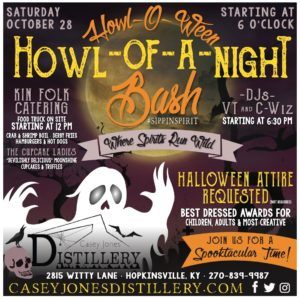 Howl-Of-A-Night @ Casey Jones Distillery  | Hopkinsville | Kentucky | United States