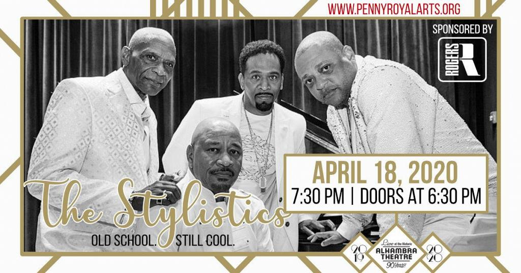 Stylistics Tour Dates 2020 Live at the Historic Alhambra: The Stylistics