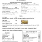 AJs Kitchen menu pg 4-October 2019