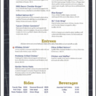 Bourbon's Bar & Grill Menu 2
