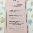 Jennies Place-Menu Daily Specials-March 2020