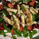 Salad at Lu Lus Place