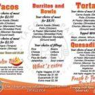 Tacos El Papi Menu 2